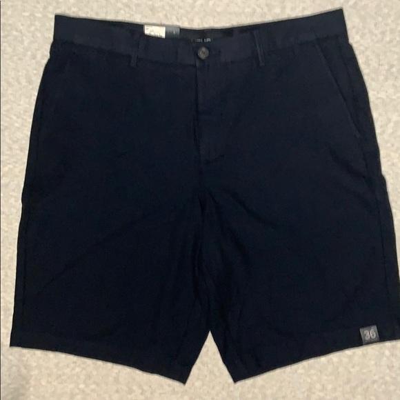 Marc Anthony slim shorts flat front sz 36 NWT